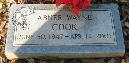 COOK, ABNER WAYNE - East Baton Rouge County, Louisiana   ABNER WAYNE COOK - Louisiana Gravestone Photos