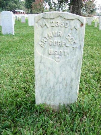 COOK, ARTHUR (VETERAN UNION) - East Baton Rouge County, Louisiana | ARTHUR (VETERAN UNION) COOK - Louisiana Gravestone Photos