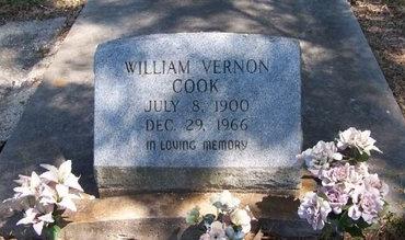 COOK, WILLIAM VERNON - East Baton Rouge County, Louisiana | WILLIAM VERNON COOK - Louisiana Gravestone Photos
