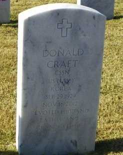 CRAFT, DONALD (VETERAN KOR) - East Baton Rouge County, Louisiana | DONALD (VETERAN KOR) CRAFT - Louisiana Gravestone Photos