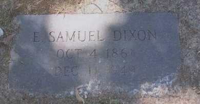 DIXON, E SAMUEL - East Baton Rouge County, Louisiana   E SAMUEL DIXON - Louisiana Gravestone Photos