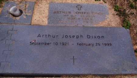 DIXON, ARTHUR JOSEPH (VETERAN WWII) - East Baton Rouge County, Louisiana   ARTHUR JOSEPH (VETERAN WWII) DIXON - Louisiana Gravestone Photos
