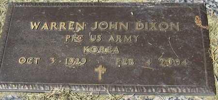 DIXON, WARREN JOHN (VETERAN KOR) - East Baton Rouge County, Louisiana | WARREN JOHN (VETERAN KOR) DIXON - Louisiana Gravestone Photos