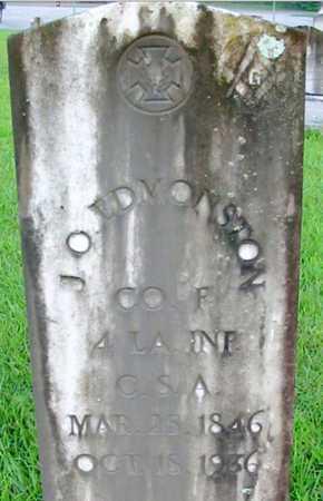 EDMONSTON, JOHN O (VETERAN CSA) - East Baton Rouge County, Louisiana | JOHN O (VETERAN CSA) EDMONSTON - Louisiana Gravestone Photos