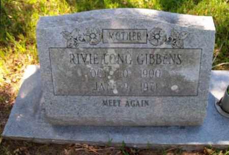 LONG GIBBENS, RIVIE (CLOSEUP) - East Baton Rouge County, Louisiana | RIVIE (CLOSEUP) LONG GIBBENS - Louisiana Gravestone Photos