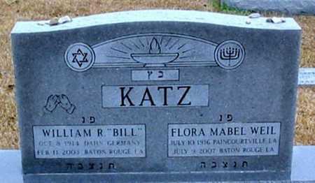 "KATZ, WILLIAM R ""BILL"" - East Baton Rouge County, Louisiana   WILLIAM R ""BILL"" KATZ - Louisiana Gravestone Photos"