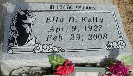 KELLY, ELLA D - East Baton Rouge County, Louisiana | ELLA D KELLY - Louisiana Gravestone Photos