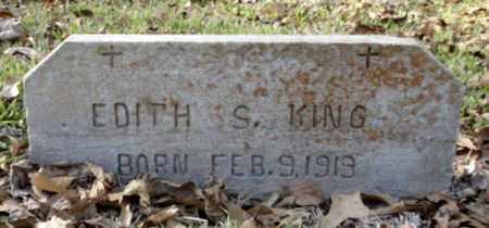 STEWART KING, EDITH - East Baton Rouge County, Louisiana | EDITH STEWART KING - Louisiana Gravestone Photos