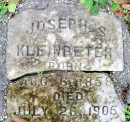 KLEINPETER, JOSEPH S - East Baton Rouge County, Louisiana   JOSEPH S KLEINPETER - Louisiana Gravestone Photos