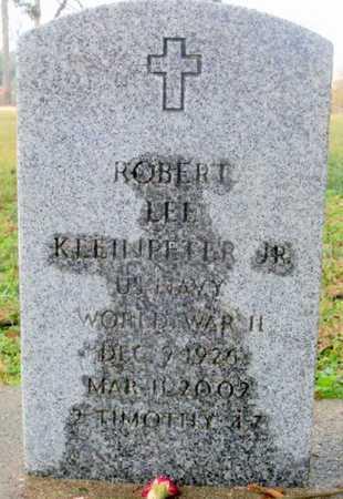 KLEINPETER, ROBERT LEE, JR  (VETERAN WWII) - East Baton Rouge County, Louisiana | ROBERT LEE, JR  (VETERAN WWII) KLEINPETER - Louisiana Gravestone Photos