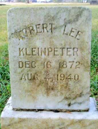 KLEINPETER, ROBERT LEE - East Baton Rouge County, Louisiana | ROBERT LEE KLEINPETER - Louisiana Gravestone Photos