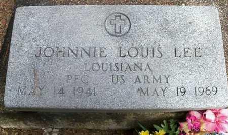LEE, JOHNNIE LEWIS  (VETERAN) - East Baton Rouge County, Louisiana | JOHNNIE LEWIS  (VETERAN) LEE - Louisiana Gravestone Photos