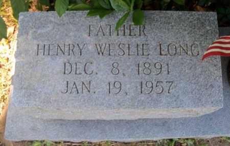 LONG, HENRY WESLIE - East Baton Rouge County, Louisiana | HENRY WESLIE LONG - Louisiana Gravestone Photos