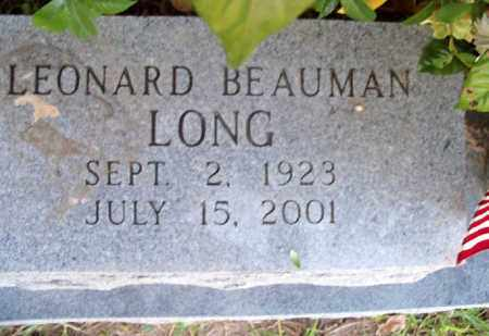 LONG, LEONARD BEAUMAN - East Baton Rouge County, Louisiana   LEONARD BEAUMAN LONG - Louisiana Gravestone Photos