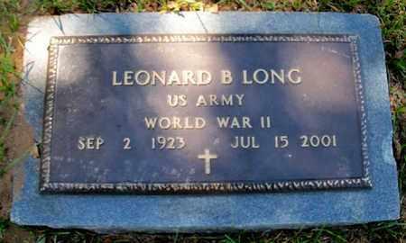 LONG, LEONARD B (VETERAN WWII) - East Baton Rouge County, Louisiana   LEONARD B (VETERAN WWII) LONG - Louisiana Gravestone Photos