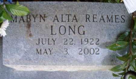 LONG, MABYN ALTA - East Baton Rouge County, Louisiana | MABYN ALTA LONG - Louisiana Gravestone Photos