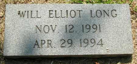 LONG, WILL ELLIOT - East Baton Rouge County, Louisiana | WILL ELLIOT LONG - Louisiana Gravestone Photos