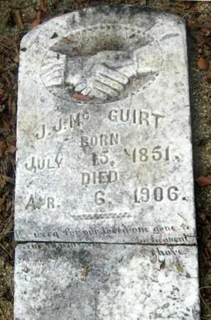 MCGUIRT, JACKSON  J - East Baton Rouge County, Louisiana | JACKSON  J MCGUIRT - Louisiana Gravestone Photos