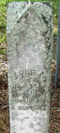 MCGUIRT, LOUIE A - East Baton Rouge County, Louisiana   LOUIE A MCGUIRT - Louisiana Gravestone Photos
