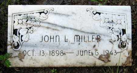 MILLER, JOHN L - East Baton Rouge County, Louisiana | JOHN L MILLER - Louisiana Gravestone Photos