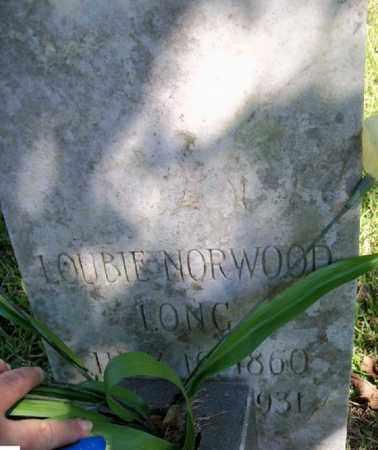 NORWOOD, LOUBIE - East Baton Rouge County, Louisiana | LOUBIE NORWOOD - Louisiana Gravestone Photos