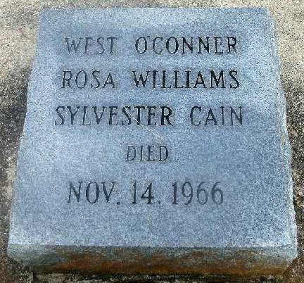 O.CONNER, WEST - East Baton Rouge County, Louisiana | WEST O.CONNER - Louisiana Gravestone Photos