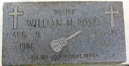 """POSEY, WILLIAM M  """"BUSTER"""" - East Baton Rouge County, Louisiana   WILLIAM M  """"BUSTER"""" POSEY - Louisiana Gravestone Photos"""