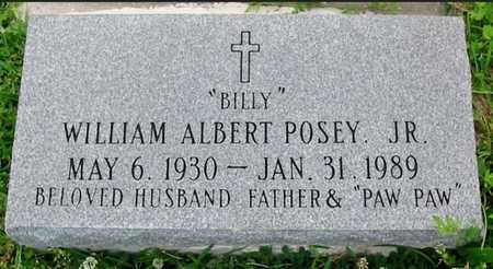 "POSEY, WILLIAM ALBERT, JR  ""BILLY: - East Baton Rouge County, Louisiana   WILLIAM ALBERT, JR  ""BILLY: POSEY - Louisiana Gravestone Photos"