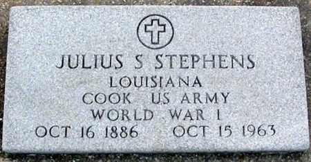 STEPHENS, JULIUS S  (VETERAN WWI) - East Baton Rouge County, Louisiana | JULIUS S  (VETERAN WWI) STEPHENS - Louisiana Gravestone Photos