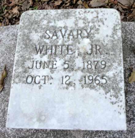 WHITE, SAVARY, JR - East Baton Rouge County, Louisiana   SAVARY, JR WHITE - Louisiana Gravestone Photos