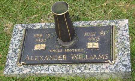 WILLIAMS, ALEXANDER - East Baton Rouge County, Louisiana | ALEXANDER WILLIAMS - Louisiana Gravestone Photos
