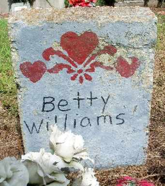 WILLIAMS, BETTY - East Baton Rouge County, Louisiana | BETTY WILLIAMS - Louisiana Gravestone Photos