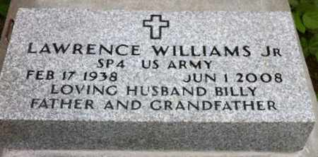 WILLIAMS, LAWRENCE, JR  (VETERAN) - East Baton Rouge County, Louisiana | LAWRENCE, JR  (VETERAN) WILLIAMS - Louisiana Gravestone Photos