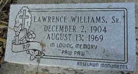 WILLIAMS, LAWRENCE, SR - East Baton Rouge County, Louisiana | LAWRENCE, SR WILLIAMS - Louisiana Gravestone Photos