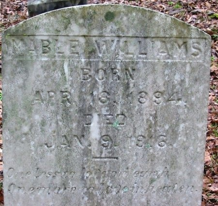 WILLIAMS, MABLE - East Baton Rouge County, Louisiana   MABLE WILLIAMS - Louisiana Gravestone Photos
