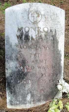 WILLIAMS, MONROE  (VETERAN WWII) - East Baton Rouge County, Louisiana | MONROE  (VETERAN WWII) WILLIAMS - Louisiana Gravestone Photos