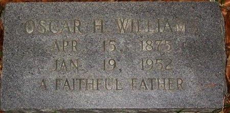 WILLIAMS, OSCAR H - East Baton Rouge County, Louisiana | OSCAR H WILLIAMS - Louisiana Gravestone Photos