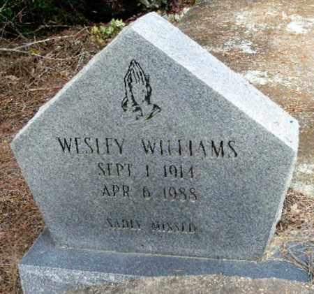WILLIAMS, WESLEY - East Baton Rouge County, Louisiana | WESLEY WILLIAMS - Louisiana Gravestone Photos