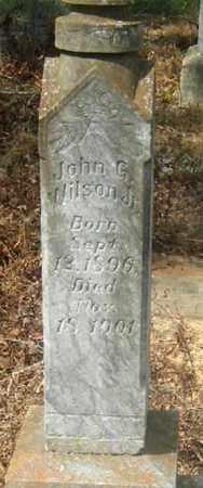 WILSON, JOHN G, JR - East Baton Rouge County, Louisiana   JOHN G, JR WILSON - Louisiana Gravestone Photos