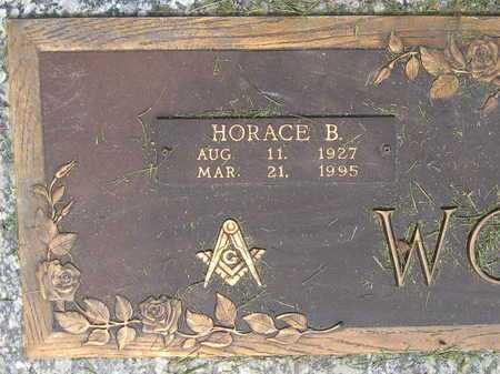 WOMACK, HORACE B (CLOSEUP) - East Baton Rouge County, Louisiana   HORACE B (CLOSEUP) WOMACK - Louisiana Gravestone Photos