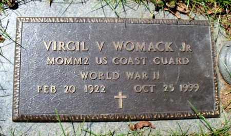 WOMACK, VIRGIL V, JR (VETERAN WWII) - East Baton Rouge County, Louisiana | VIRGIL V, JR (VETERAN WWII) WOMACK - Louisiana Gravestone Photos