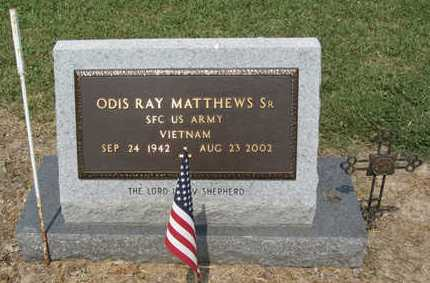 MATTHEWS, ODIS RAY, SR  (VETERAN VIET) - East Carroll County, Louisiana | ODIS RAY, SR  (VETERAN VIET) MATTHEWS - Louisiana Gravestone Photos
