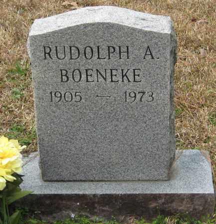 BOENEKE, RUDOLPH A - East Feliciana County, Louisiana | RUDOLPH A BOENEKE - Louisiana Gravestone Photos
