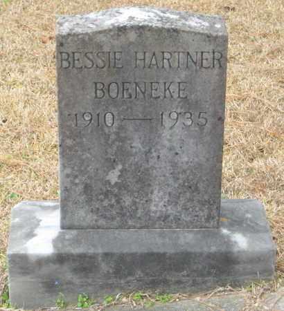 HARTNER BORNEKE, BESSIE - East Feliciana County, Louisiana | BESSIE HARTNER BORNEKE - Louisiana Gravestone Photos