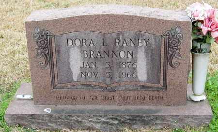 RANEY BRANNON, DORA L - East Feliciana County, Louisiana | DORA L RANEY BRANNON - Louisiana Gravestone Photos