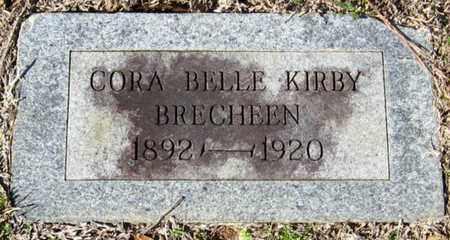BRECHEEN, CORA BELLE - East Feliciana County, Louisiana | CORA BELLE BRECHEEN - Louisiana Gravestone Photos