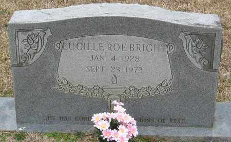 ROE BRIGHT, LUCILLE - East Feliciana County, Louisiana   LUCILLE ROE BRIGHT - Louisiana Gravestone Photos