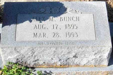 BUNCH, ALEX M - East Feliciana County, Louisiana | ALEX M BUNCH - Louisiana Gravestone Photos