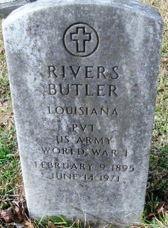 BUTLER, RIVERS  (VETERAN WWI) - East Feliciana County, Louisiana   RIVERS  (VETERAN WWI) BUTLER - Louisiana Gravestone Photos
