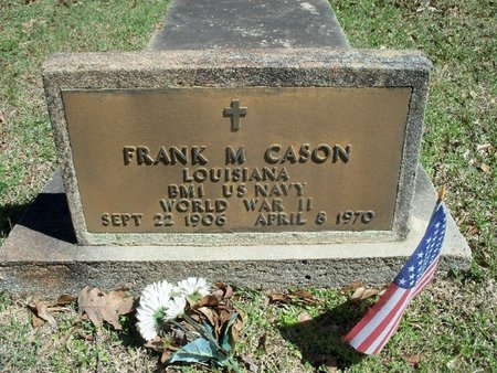 CASON, FRANK M  (VETERAN WWII) - East Feliciana County, Louisiana | FRANK M  (VETERAN WWII) CASON - Louisiana Gravestone Photos